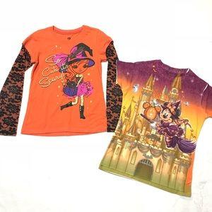 Halloween Disney shirts set bundle girls size 10 L